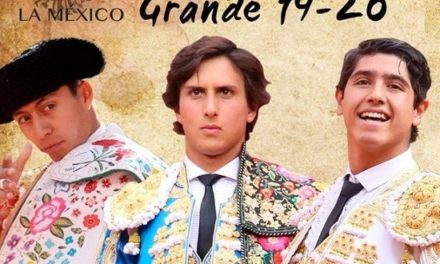 Flores, Roca Rey y Luis David