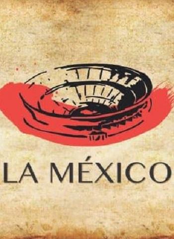 Cartel de postín en la México