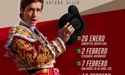 Arturo Gilio tiene cinco fechas por cumplir