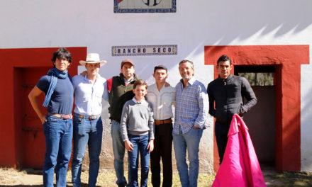 Isaac Fonseca tienta en Rancho Seco