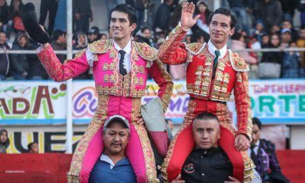 Calita y Mendoza comparten el triunfo