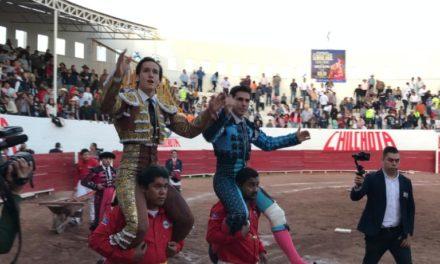Salen a hombros Garza Gaona y Gilio en Lerdo