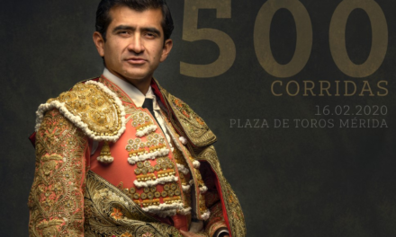 Joselito  llegará a las 500 corridas