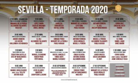 Tres novilleros mexicanos anunciados en Sevilla