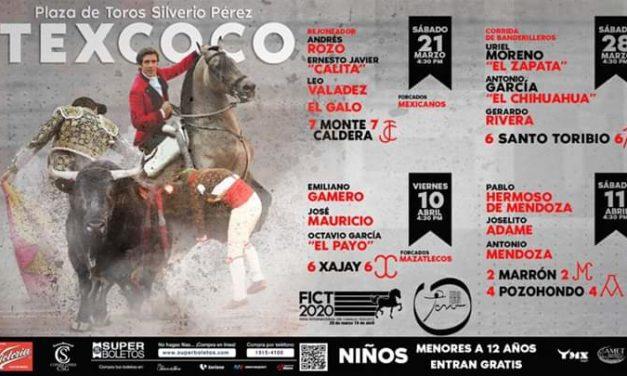 Se darán cuatro corridas en Texcoco