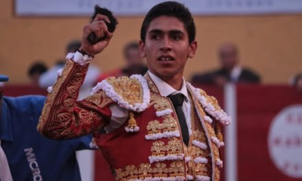 Valiosa oreja a Gutiérrez