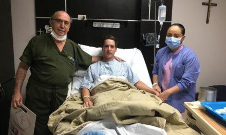 El rejoneador Leal Sebastián fue operado con éxito