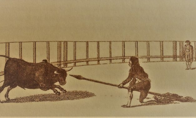 La Lanza a pie y a caballo