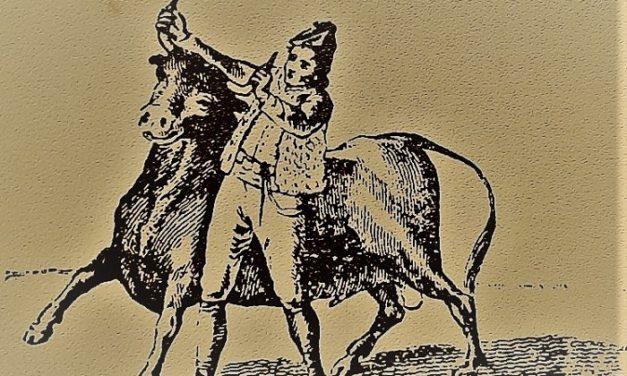 Evolución del toreo a pie