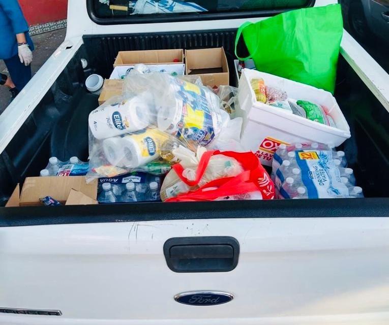 Se unen agrupaciones para donar despensas en San Luis