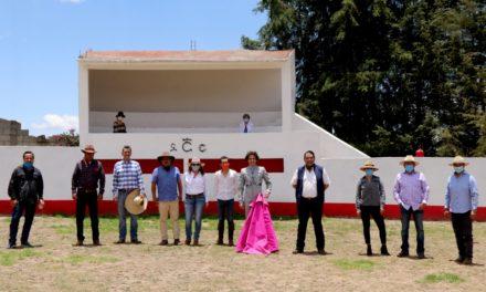 Labores de tienta en Tenolapa