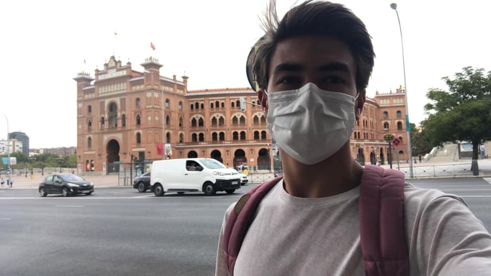 Bruno Aloi aceptado en la Escuela de Madrid