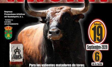 «Calita» anunciado en Almoguera con toros de Miura