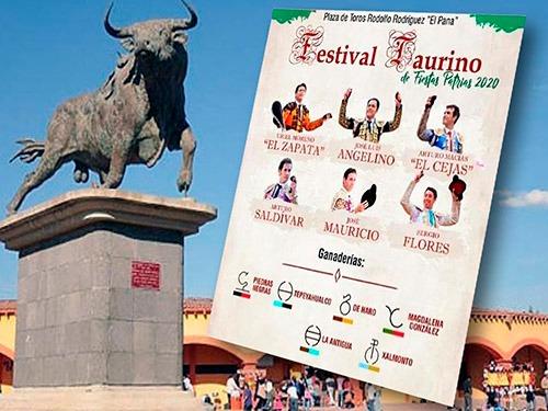 Festival de fiestas patrias en Apizaco
