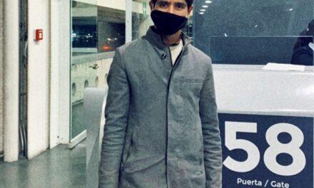 Luis David viaja a España