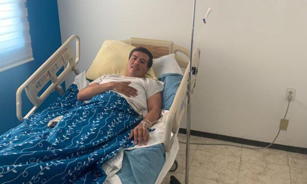 Manuel Guevara fue operado con éxito