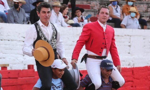 Garate y Pimentel comparten triunfo