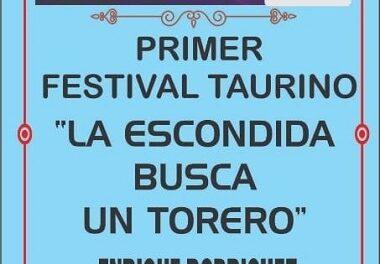 Anuncian ciclo de festivales: «La Escondida Busca un Torero»