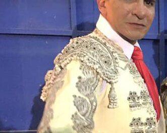 El matador Edgar Palacios con Covid