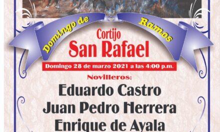 Darán novillada en el Cortijo «San Rafael»