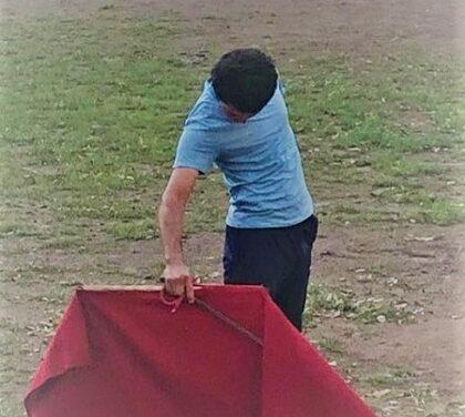 Juan Querencia ya entrena en su rancho