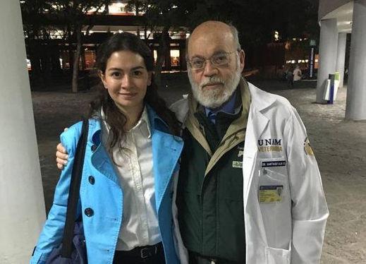 Muere el veterinario Santiago Aja