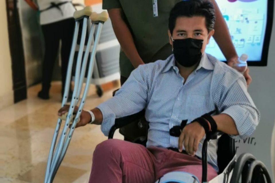 El matador Oscar Rodríguez deja el hospital