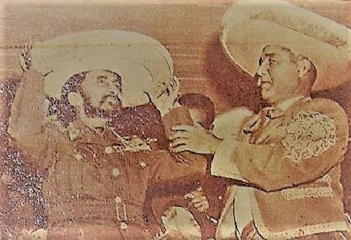 El emperador de Etiopía en una novillada