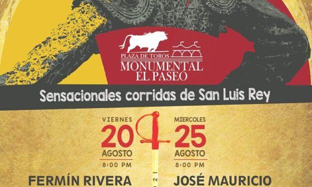 Anuncian dos corridas en San Luis Potosí
