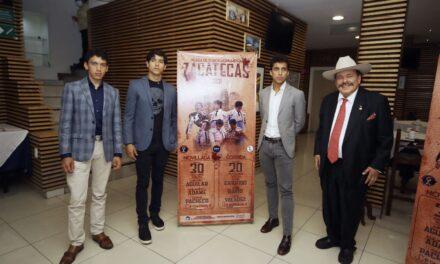 Anuncian una novillada y una corrida en Zacatecas